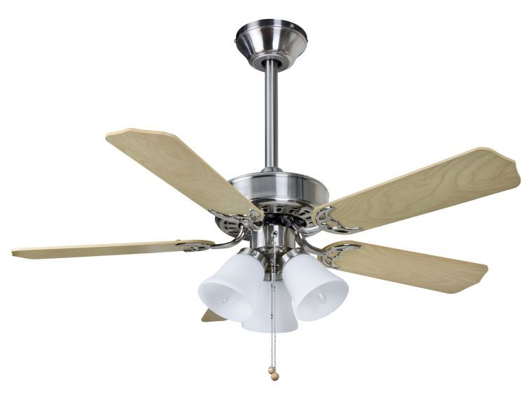 Belaire Combi 42inch Ceiling Fan with Light Brushed Nickel