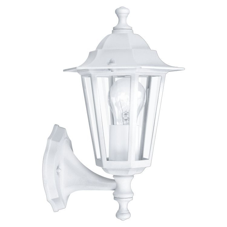 LATERNA 5 Outdoor Up Wall Lantern White