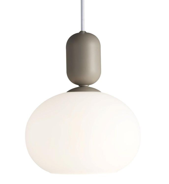 Notti Pendant Ceiling Light with Shade Gray
