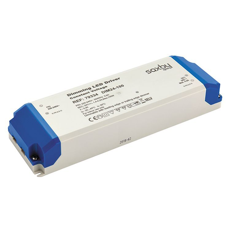 LED Driver Constant Voltage Dimmable 24V 100W
