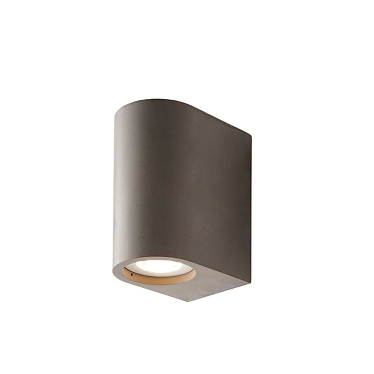 Anders 2-Light Wall Light Concrete
