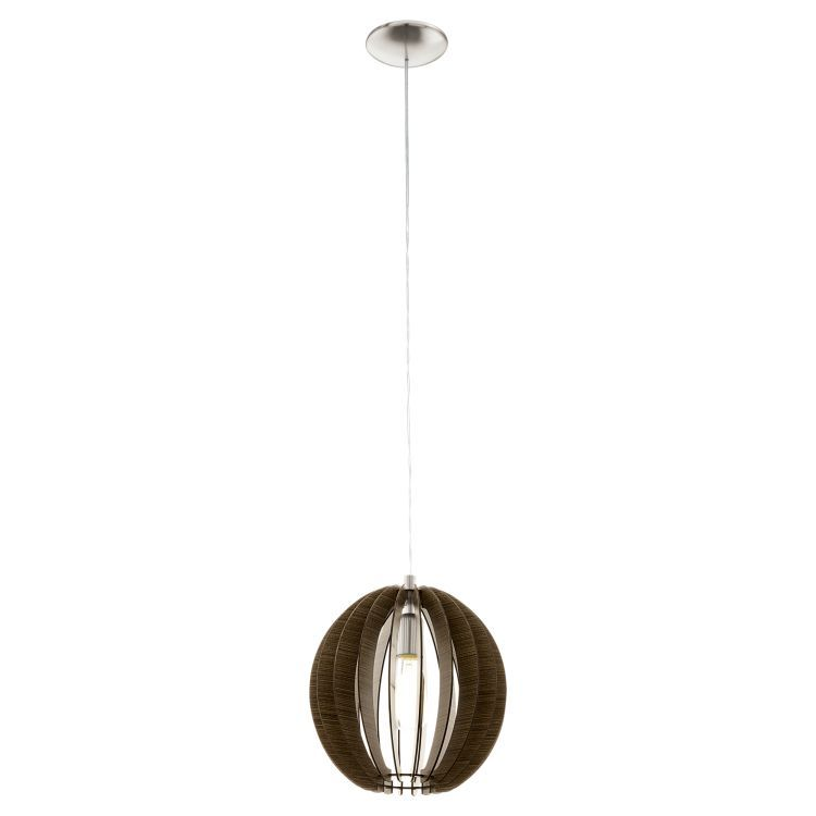 COSSANO Pendant Ceiling Light 300mm Brown