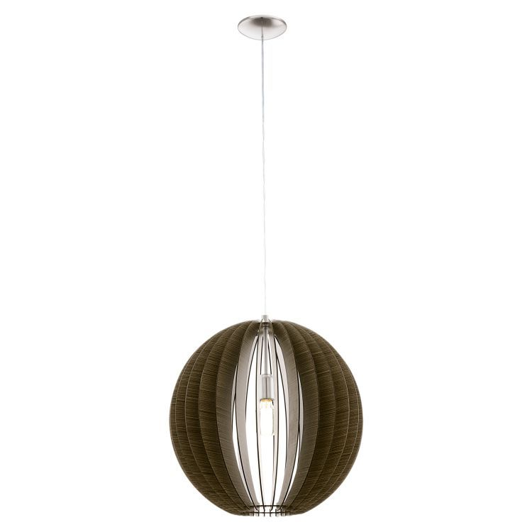 COSSANO Pendant Ceiling Light 500mm Brown