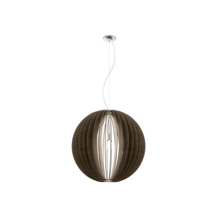 COSSANO Pendant Ceiling Light 700mm Brown