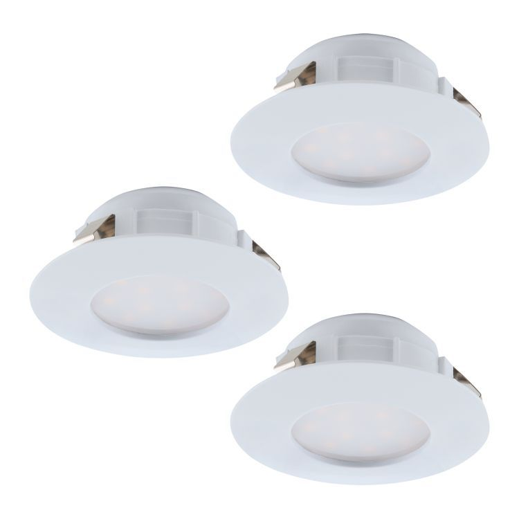 PINEDA 3 x LED Recessed Downlight White 95821