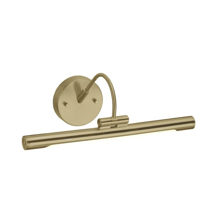 Alton 1-Light Small LED Picture Light - Brushed Brass
