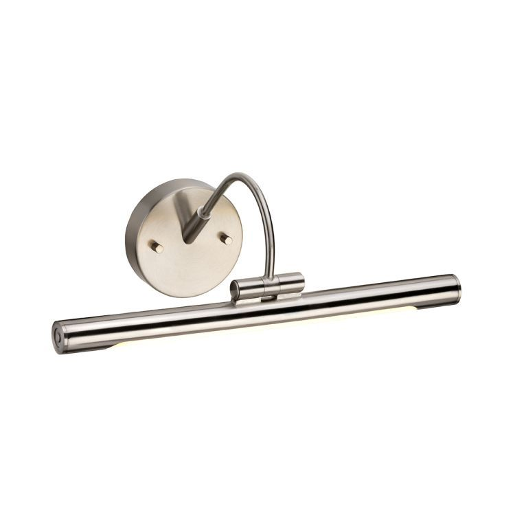 Alton 1-Light Small LED Picture Light - Brushed Nickel