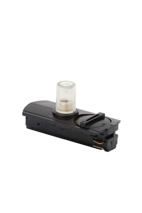 Tor Single Circuit Track Adapter For Pendant Black