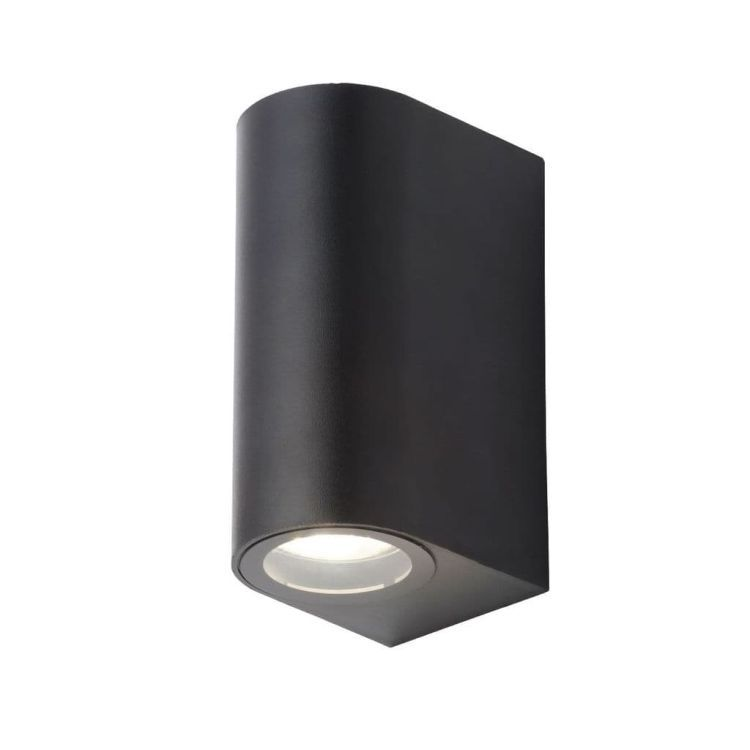 Iona Up/Down Wall Light in Black Finish