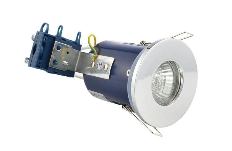 Yate Fire Rated Showerlight Chrome