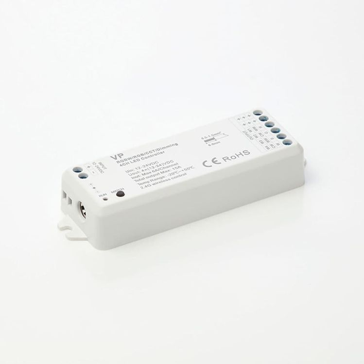 10mm 4 Channel LED Receiver Dimmer/CTA/RGB/RGBW