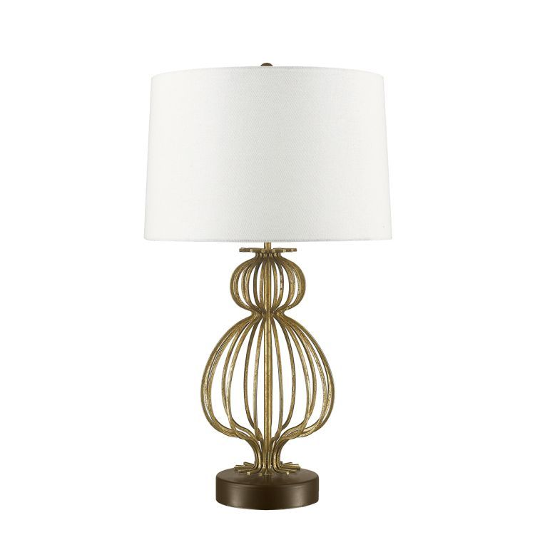 Lafitte 1-Light Table Lamp - Distressed Gold