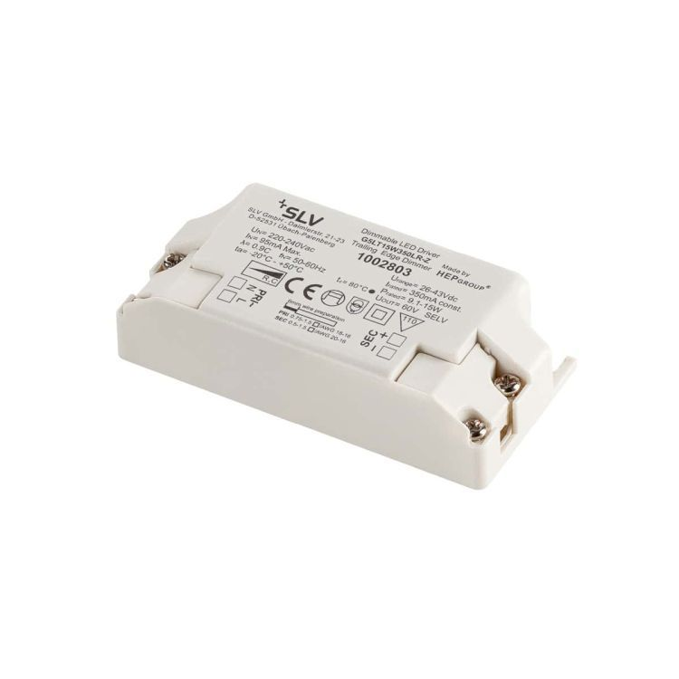 LED driver 9.1 - 15W 350mA, dimmable