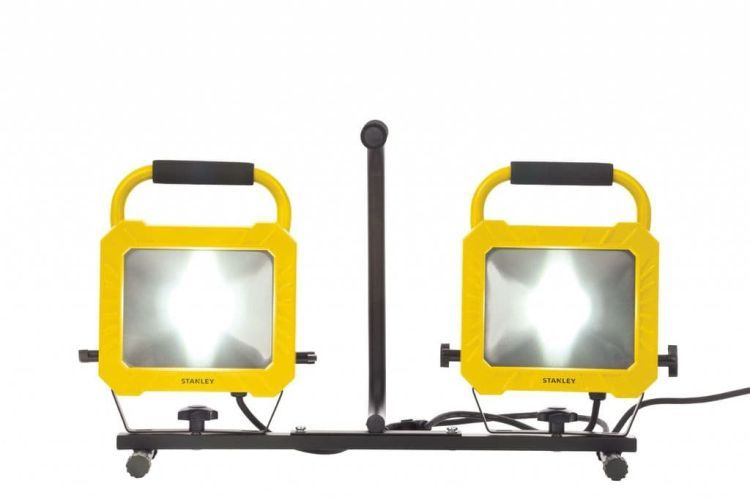 Twin COB LED Worklight Yellow/Black